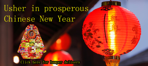 Chinese New Year Hamper & Flowers Delivery