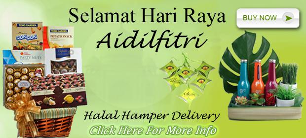 Hari Raya Hamper & Flowers Delivery