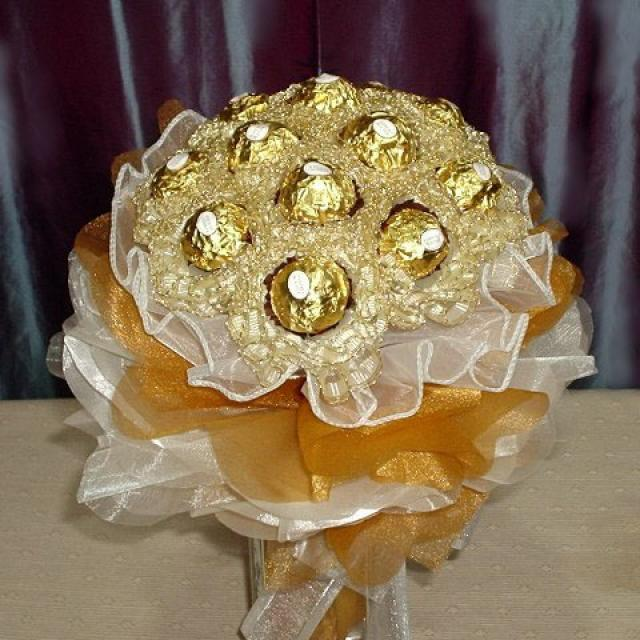 how to make a ferrero rocher cone tree