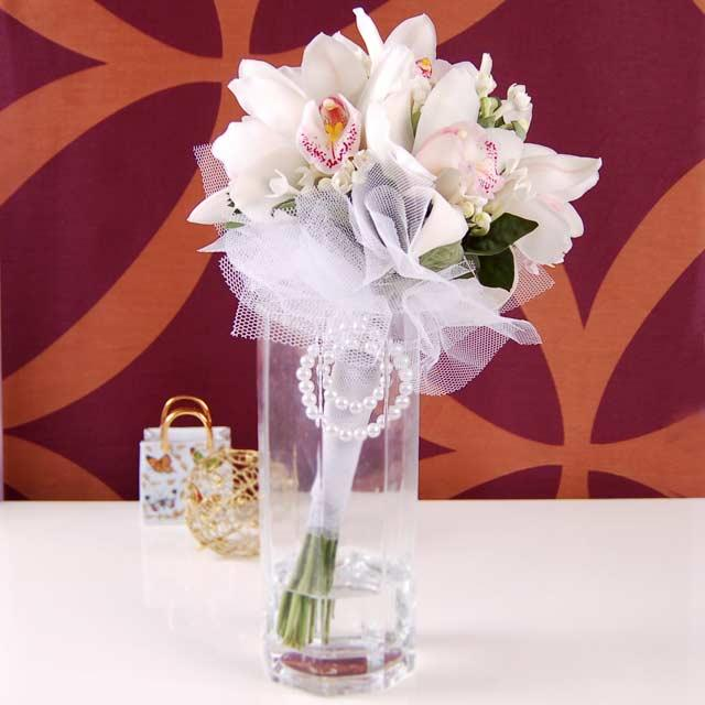 Cymbidium Orchid Bouquet ( No Vase, 3Days Advance Order )