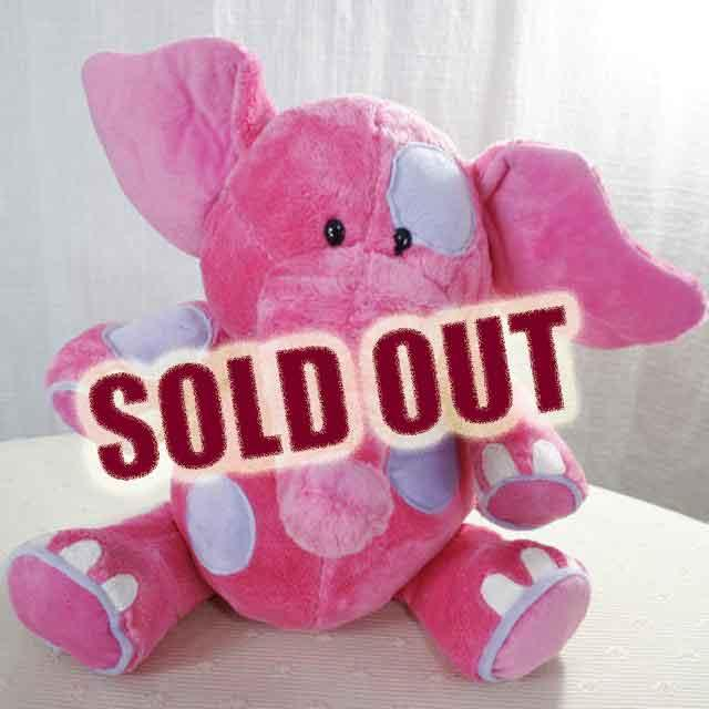 Add-on 12 Inches Patchy Elephant (Pink)