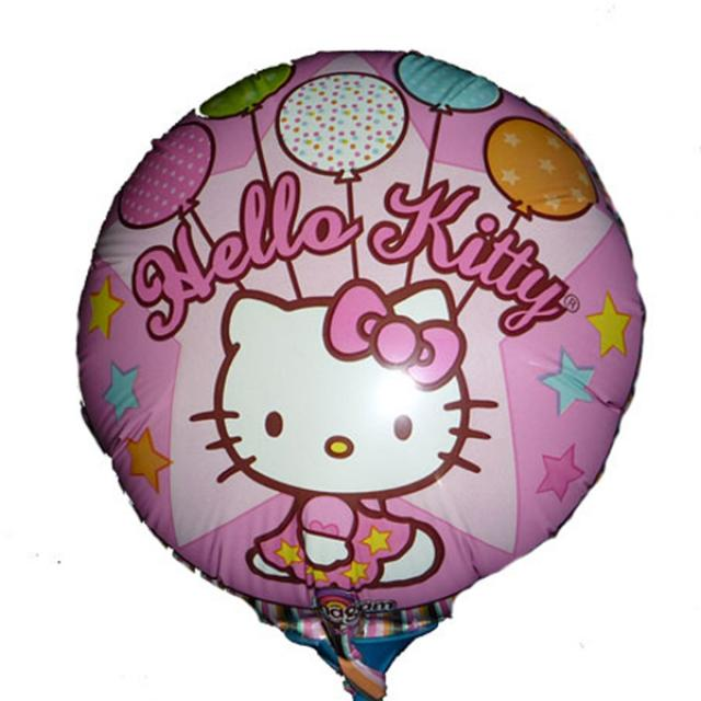 Add-on 9 inches Hello kitty foil balloon