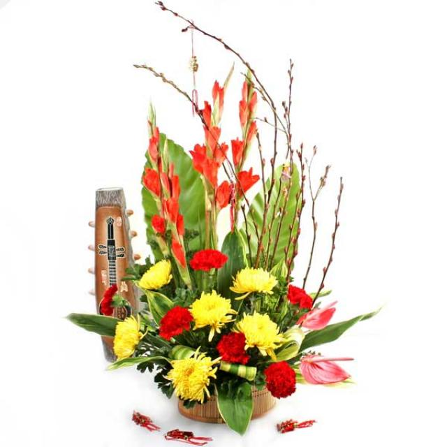 Chinese New Year Flowers Arrangement