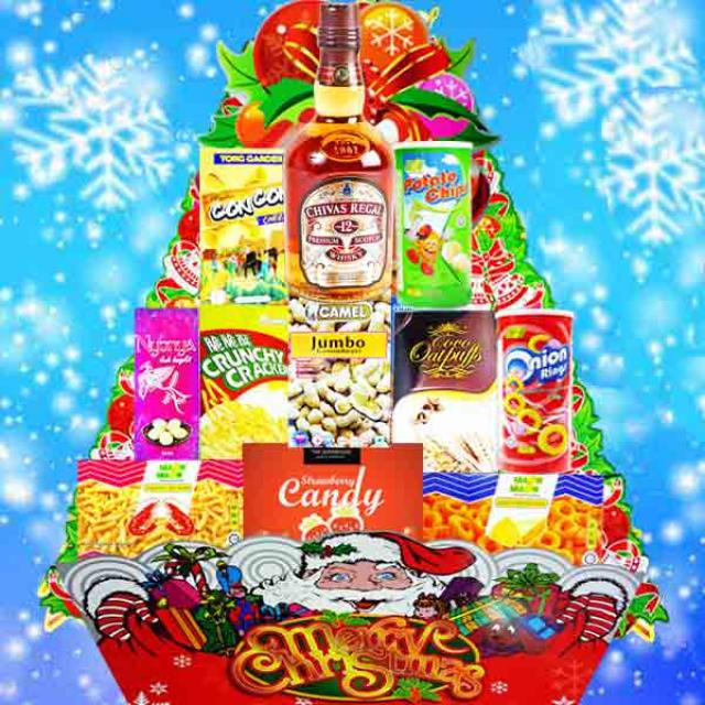 Christmas Whisky Hamper XM153