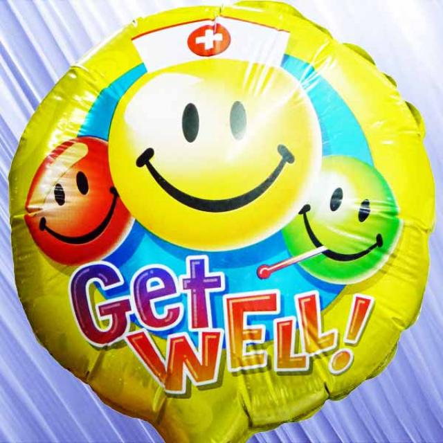 Add-On Get Well Baloon 9 inches