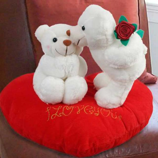 Add-on 5inches Pair of Love Bear