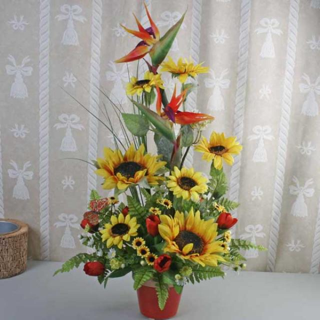 Artificial Sun Flowers Arrangement