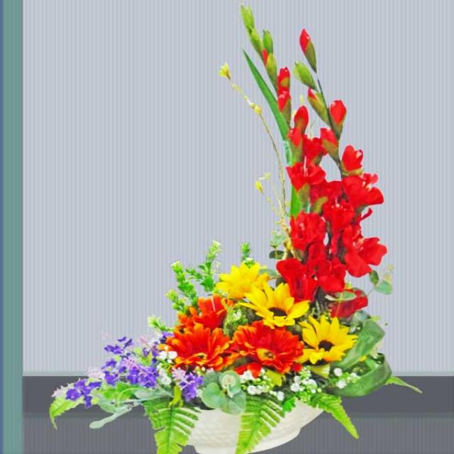 Artificial Gerbera Table Arrangement
