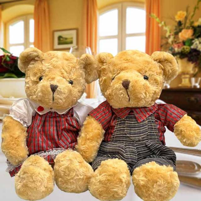 Add-On 39cm Couple Bear