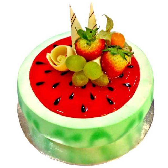 Add-On Watermelon fruit cake 1 kg