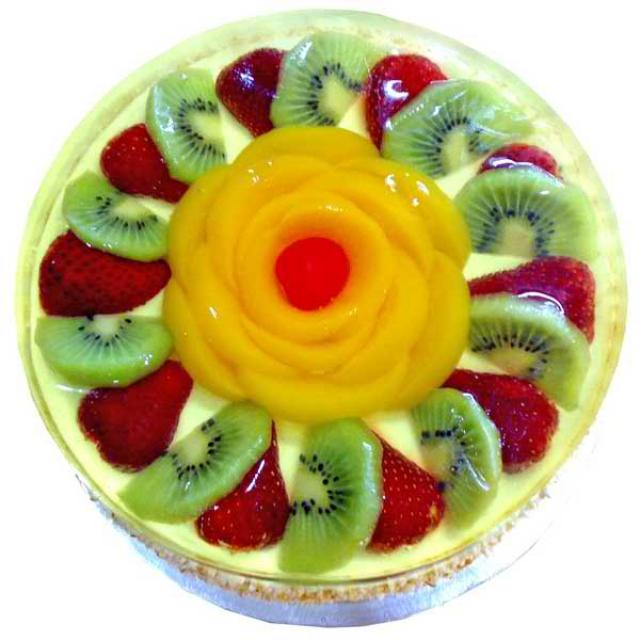 Add-On Mixed Fruit Delight Sponge Cake 1 Kg