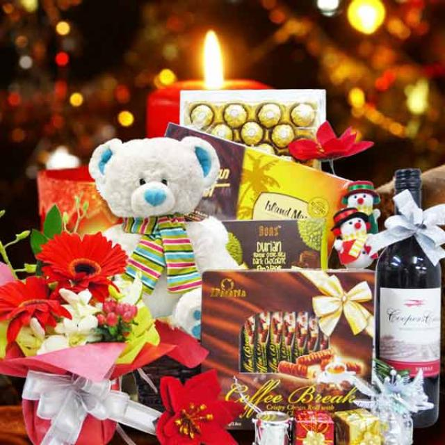 Christmas Hamper & Gift Basket XM103