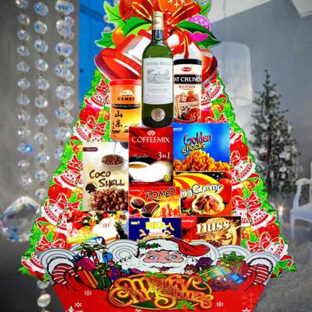 Christmas White Wine Hamper XM115