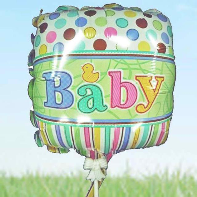 "Add On 9"" Baby Balloon"