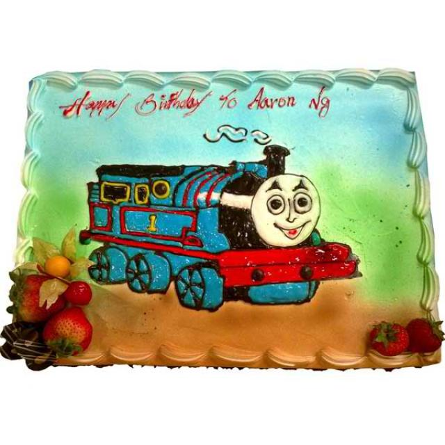 """Toot Toot"" Train Sponge 2Kg"