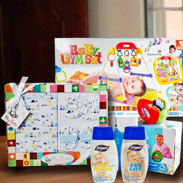 Baby Boy Gift Hamper Delivery In Singapore BB082