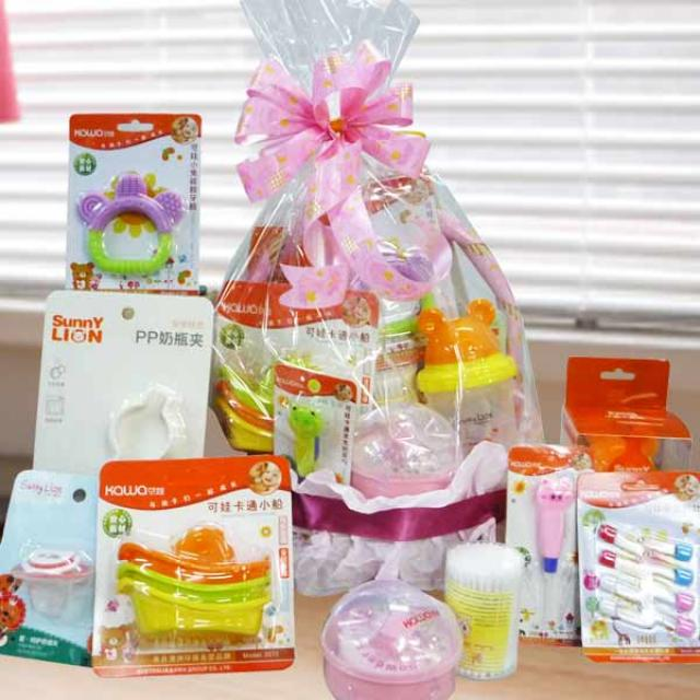 Baby Girl Gift Set  9 pcs