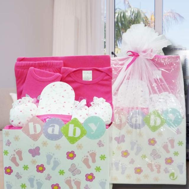 Baby Girl Gift Set ( 8 Pcs )