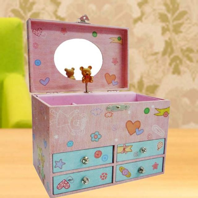 Musical Box ( Bear Design )