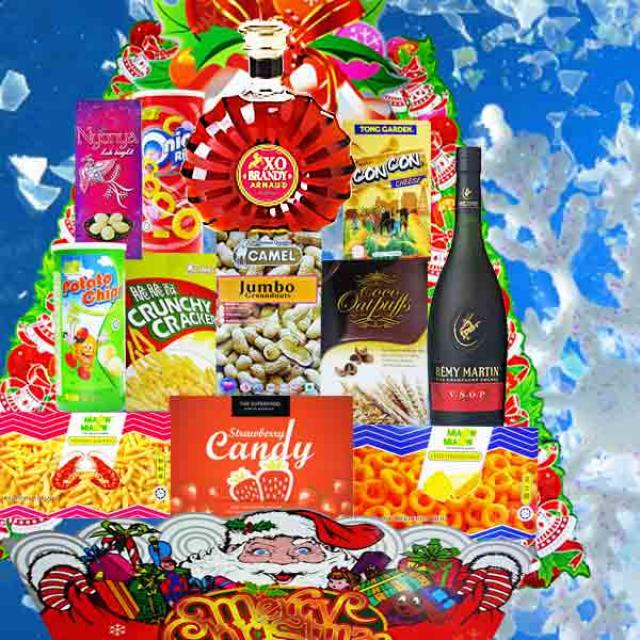 Christmas Hamper Delivery XM137