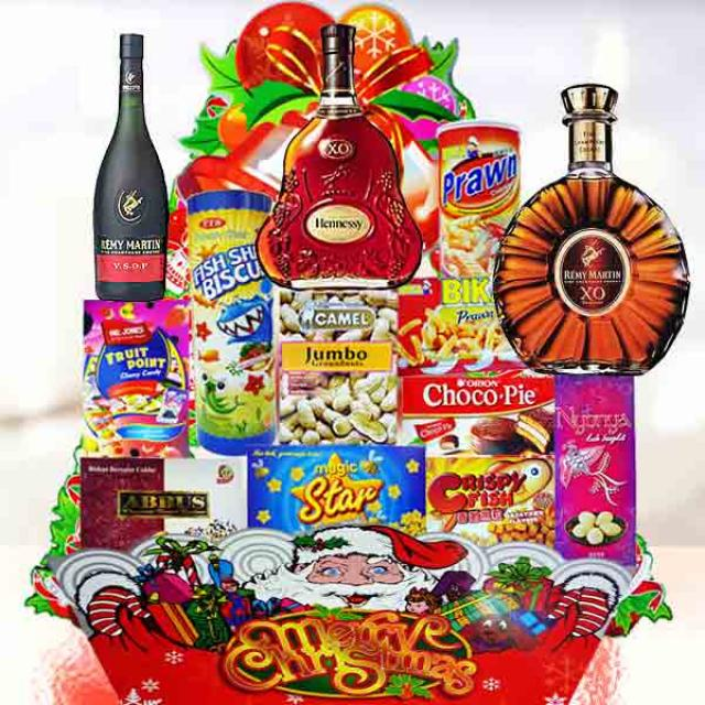 Christmas Hamper Delivery XM140
