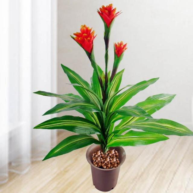 Artificial 75cm Height Ginger Flowers 3 Sprays