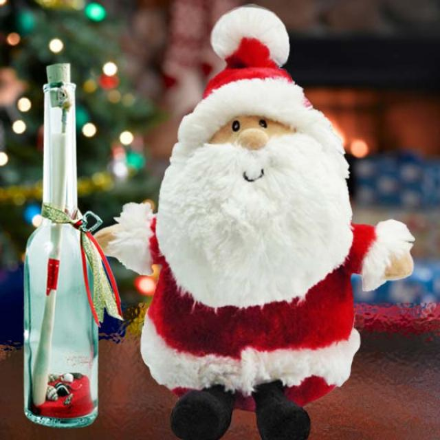 Santa Claus & Message in a Bottle