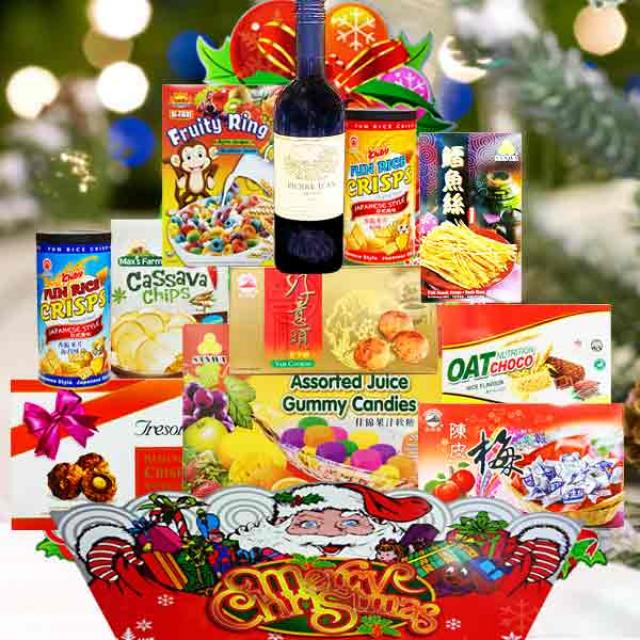 Christmas Hamper XM128 Delivery in Singapore