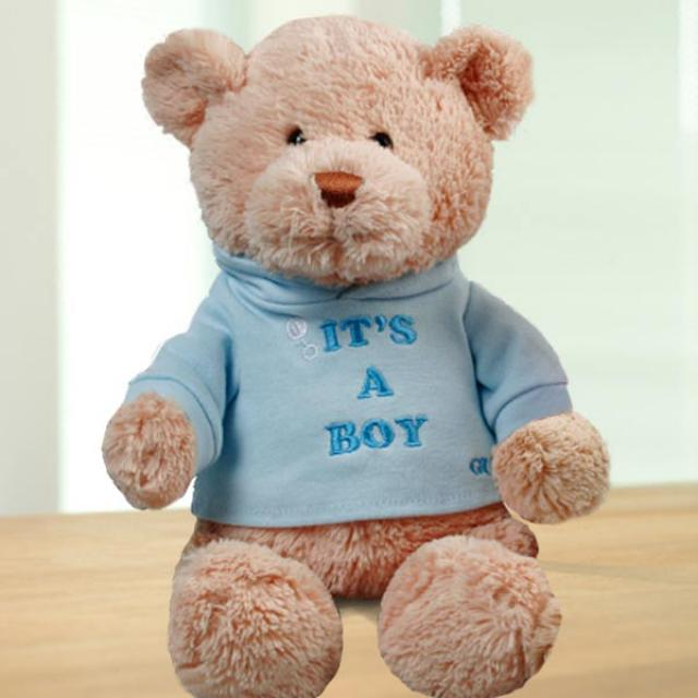 Add-On (It's A BOY) 8 inches Bear