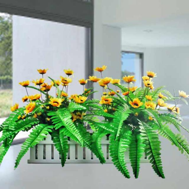 Artificial SunFlowers Arrangement 1 Ft Height