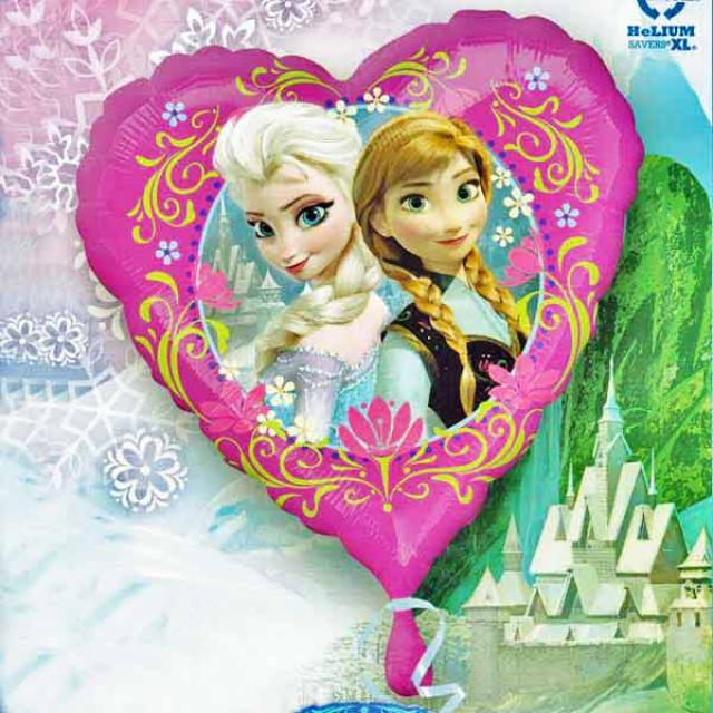 "Add-On 18"" Helium Filled (Elsa & Anna) Mylar Floating Balloon"
