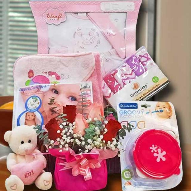 Baby Girl Gift Basket BB020