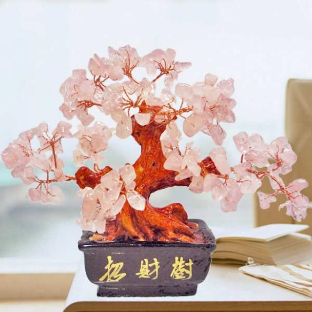 Multi-Crystal Wish-fulfilling Gem Tree 10cm Height