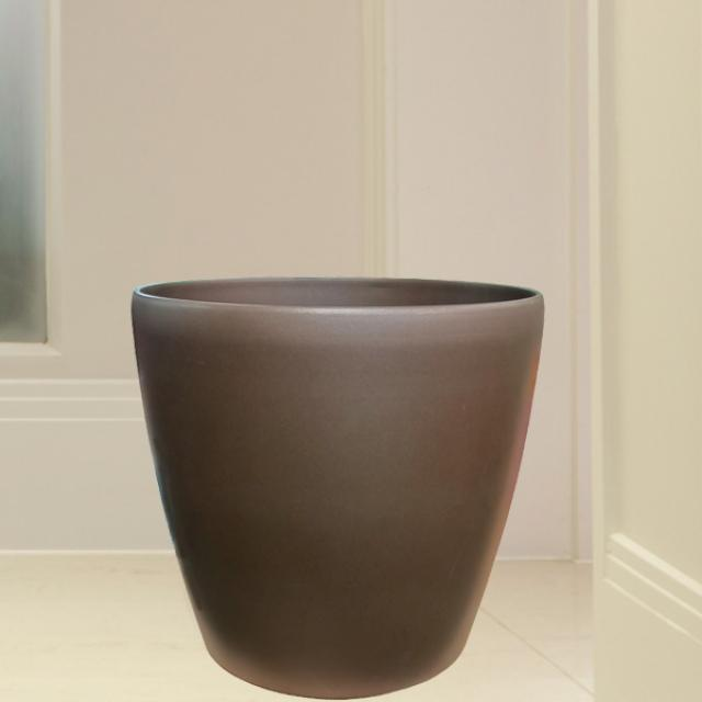 Add-On Fiberglass Planter 35cm Diameter, 33cm Height.