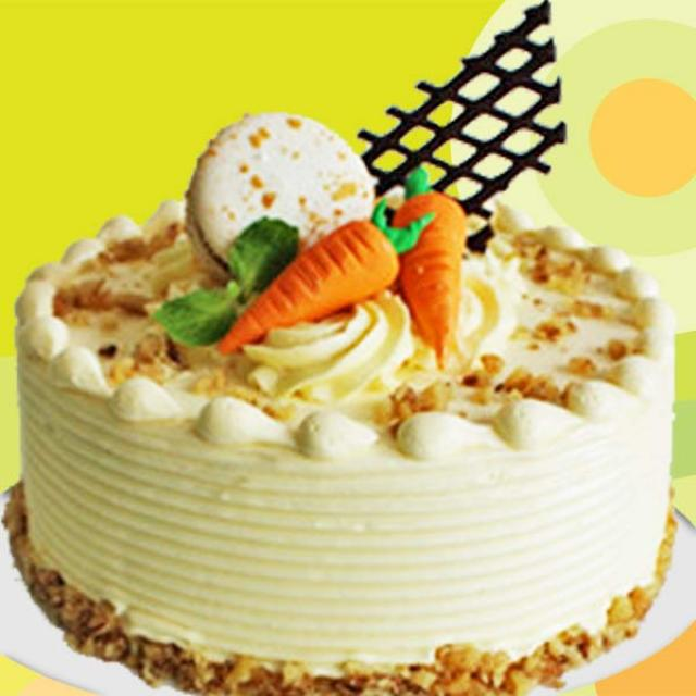 6 inches Carrot Cake Singapore Delivery