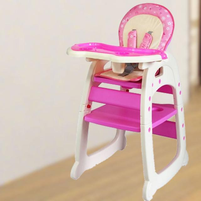 Baby Tea Time High Chair ( Pink )