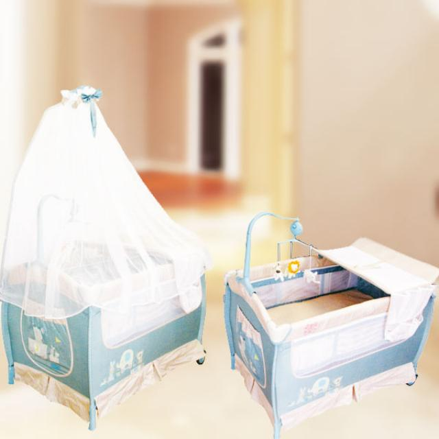 Baby Boy Playpen ( Blue )