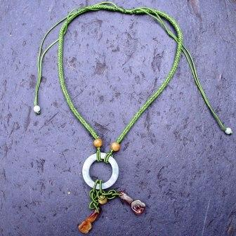 Necklace with Jade Pendant