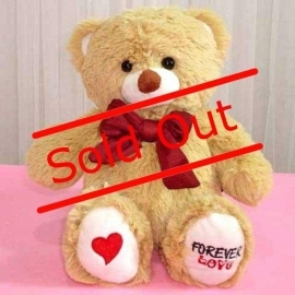 Add-on 10 inches (Forever love) sitting Bear
