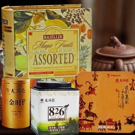 Premium Tea Gift Basket Hamper GO015