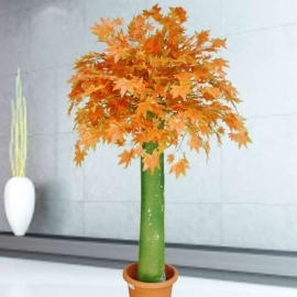 Big Trunk Artificial Autumn Maple tree 160cm Height