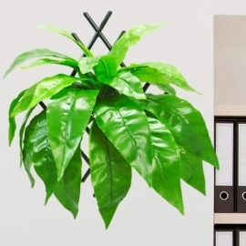 Artificial Bird's Nest Fern Hanging Plant 40 cm Height
